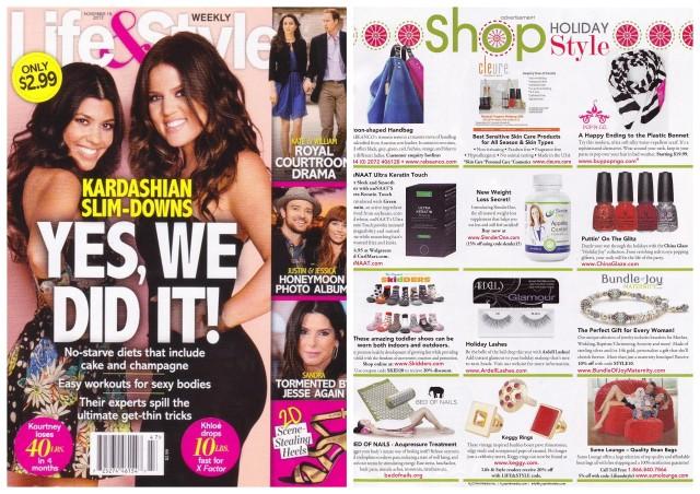 Keggy in Life & Style Magazine