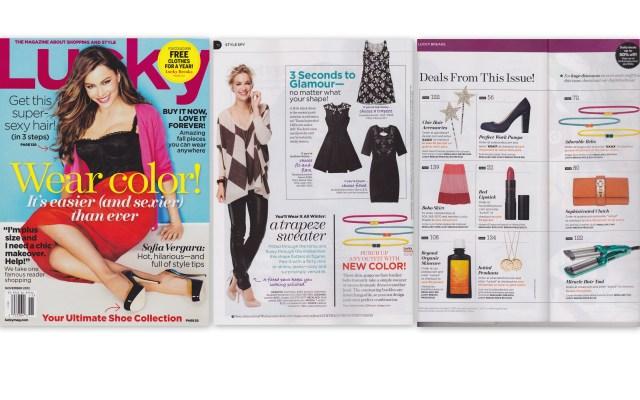 Keggy in Lucky Magazine