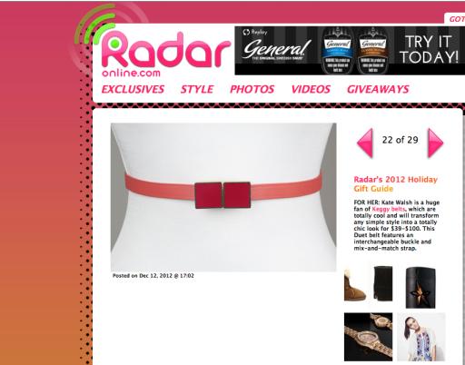 Radar Gift Guide 2