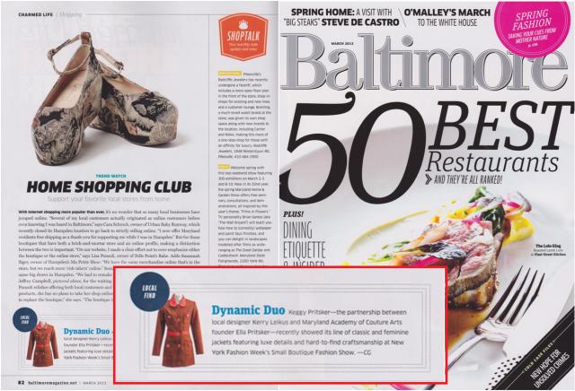 Baltimore Magazine Blog