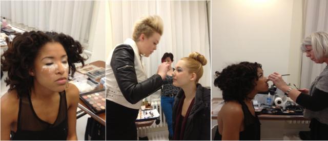 behind the scenes blog makeup